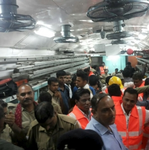 27 Dead After Two Trains Derail in India
