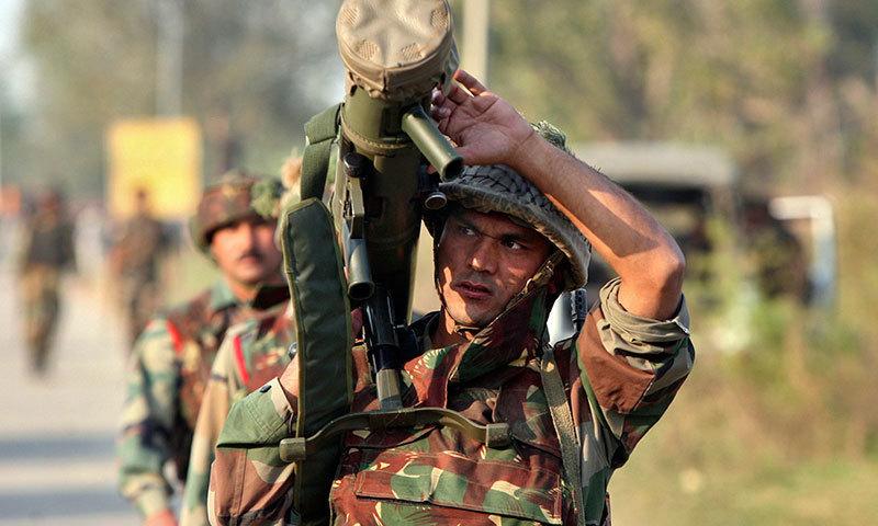 militants attack