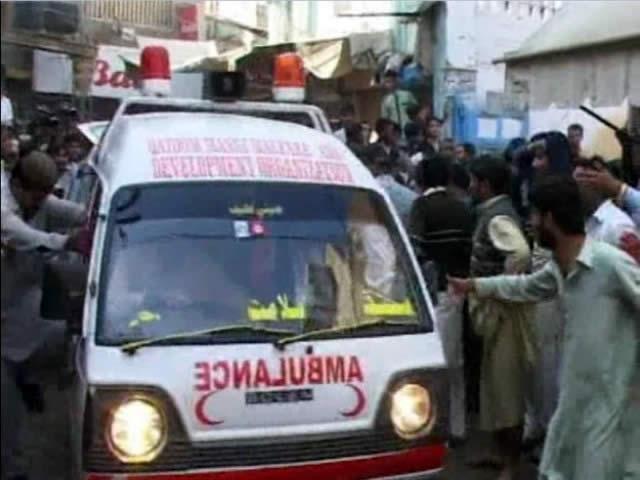 blast at Shikarpur imambargah