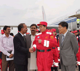 Chinese medical team leaves for Pakistan