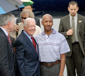 Ex-US President Carter frees American in North Korea