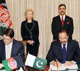 Indian export to Afghanistan will be allowed through Wahga