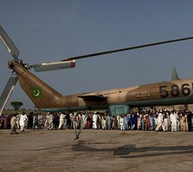 Pakistani army boosted by floods reaction