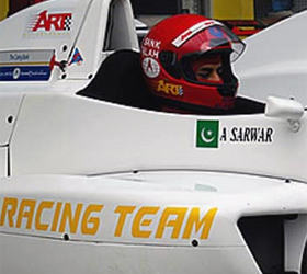 Pakistani driver Adnan to miss Indian formula racing Pakistani driver Adnan to miss Indian formula racing