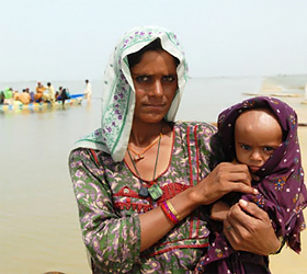 Saved from Pakistan's endless sea
