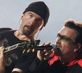 U2 Russian gig marked by human rights arrests