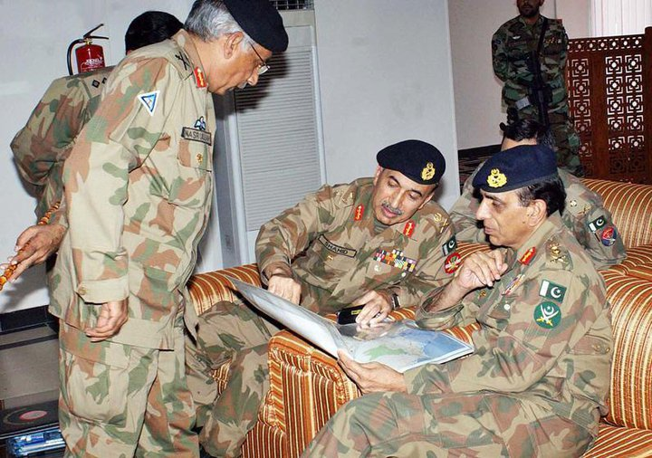 COAS visits flood hit areas on second day of eid