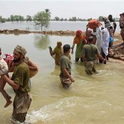 Pakistan Army's Flood relief efforts