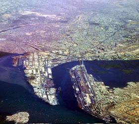 Activity at Karachi and Qasim ports