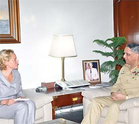 Ambassador of Sweden meets Chairman Joint Chiefs of Staff