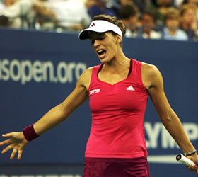 Andrea Petkovic's Experience at U.S. Open Comes to an End