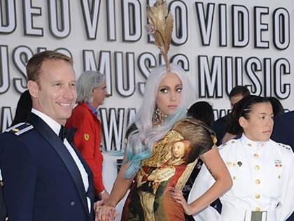 Lady Gaga's grand MTV VMAs entrance