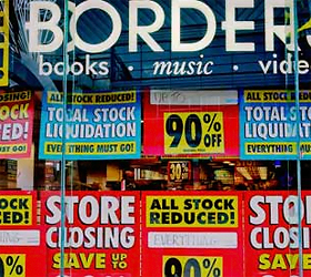 Borders sees sharp fall in revenue