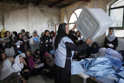 Afghan observers question election as tally starts
