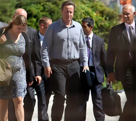David Cameron loses his inspirational father after he suffers stroke while on holiday