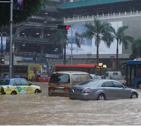 Floods, terrorism mar Eid shopping activities in City