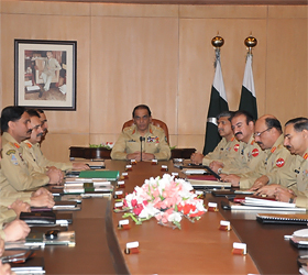 Corps Commanders Conference concludes