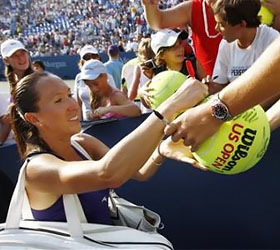 Jankovic edges Lucic in feisty U.S. Open contest