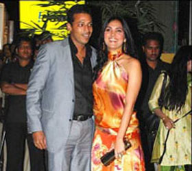 Lara Dutta and Mahesh Bhupathi get engaged