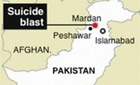 Two injured in Mardan church blast