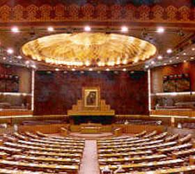 NA , Senate sessions on Monday