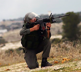 Not guilty. The Israeli captain who emptied his rifle into a Palestinian schoolgirl
