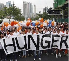 Number of hungry dips below 1 billion : UN