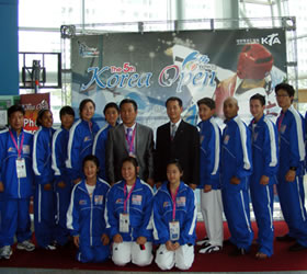 Pakistani girls clinch medals in Korean Open Taekwondo medals