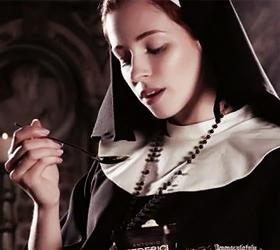 Pregnant nun advert 'offensive to Catholics'