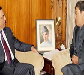 President, CM GB discuss rehabilitation of flood affected