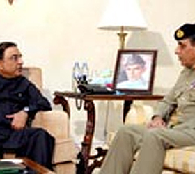 President, COAS discuss security situation, flood relief measures
