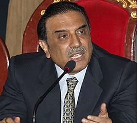President Zardari dismisses concerns of flood aid misuse