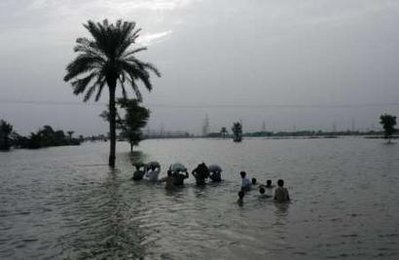 Six weeks on, south Pakistan faces new flood threat
