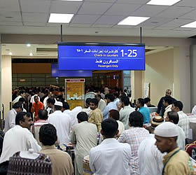 Chaos at Jeddah airport