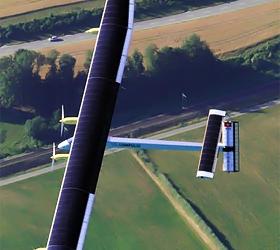 Solar plane plans first flights across Switzerland