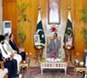 Zardari, Punjab ministers discuss rehabilitation activities