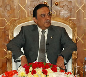 Conspiracies against govt will be thwarted: Zardari