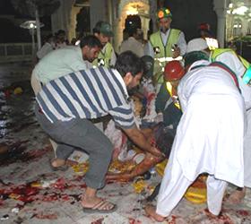4 killed in blast at Pakistan shrine