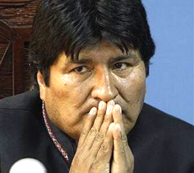 Bolivian President Set to Start Visit to Iran