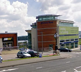 Bomb Explodes Outside Shopping Centre