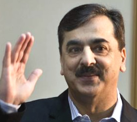 Only people have right to bring about political change; Gilani