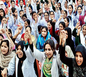 Doctors strike work at hospitals, but continue 'serving humanity at clinics'