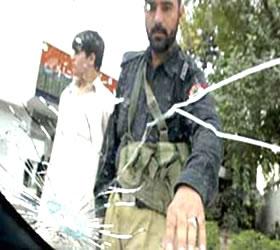Japan consulate car ambushed in Karachi; 2 hurt