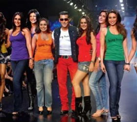 Ladies night out with Salman