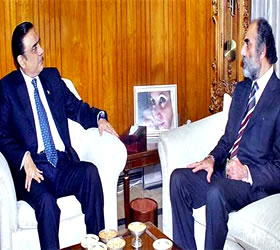 President, Balochistan CM discuss law and order situation