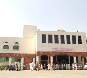 Services Hospital Lahore two officials suspended