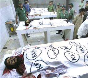 Seven killed in firing in Shershah market