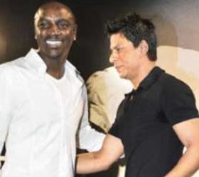 Shah Rukh to host Akon!