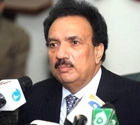 Rehman Malik announces to launch anti-corruption drive