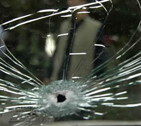 Unknown gunmen looted two vehicles